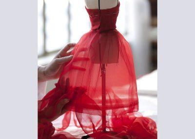 Dior-red-dress-mini-mannequin