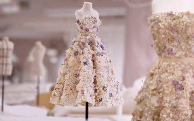 Christian Dior Mini Mannequins in Le Petit Théâtre de la Mode